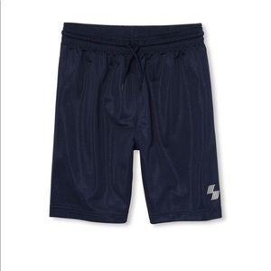 NWT PLACE Boys Blue Gym Basketball Shorts S(5/6)